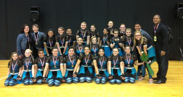 JHS Guard Championships 2013